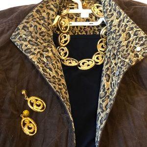 Trendy Vintage Necklace set